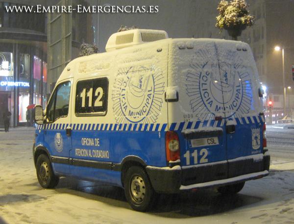 Empire emergencias polic a municipal de madrid - Oficina de atencion al ciudadano madrid ...